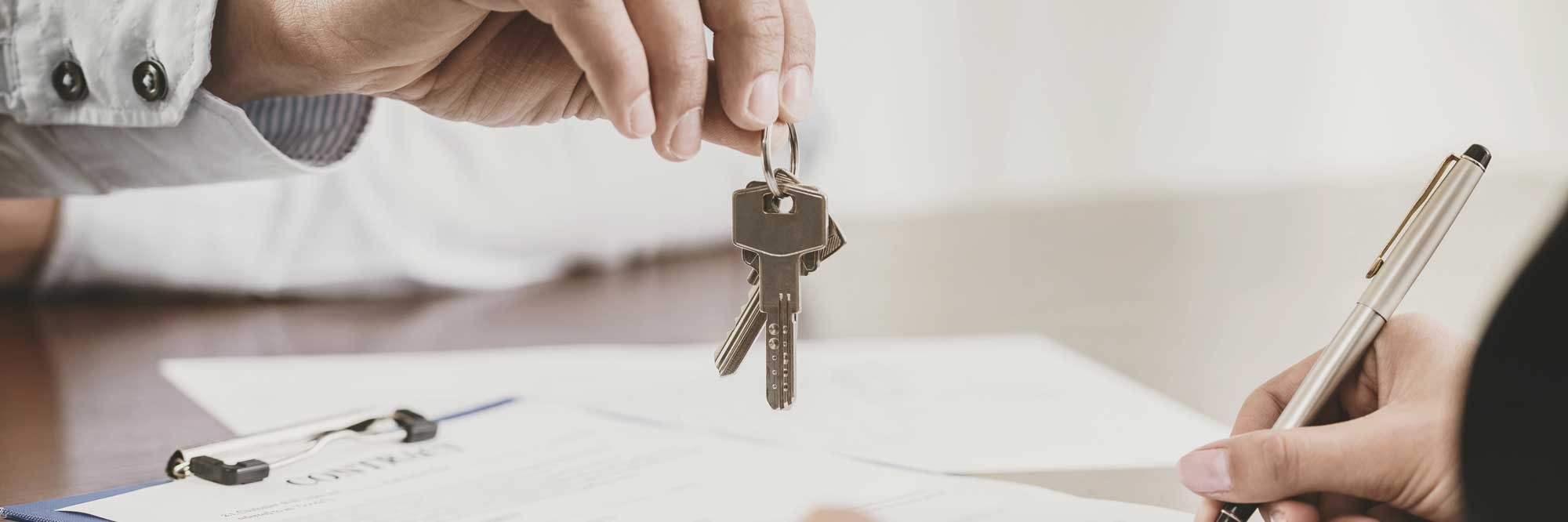 Keys to new commercial property