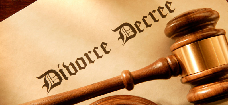 family law divorce decree